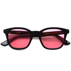 A.D.S.R. / ZAPPA ザッパ 01 (b) / Shiny Black - Light Red lenses ブラック-ライトレッド サングラス
