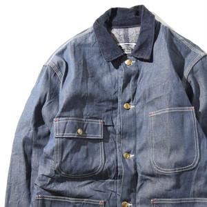 【Lサイズ】WORKN LEISURE SEARSDENIM COVERALL カバーオール L 400610191269
