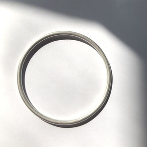 morning バングル マットシルバー / morning bangle matte silver