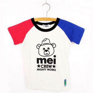 MEI KIDS color steeve tee(KME-000-166012)