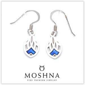 【MOSHNA:モシュナ】Ice Lace ブルーコレクション ピアス