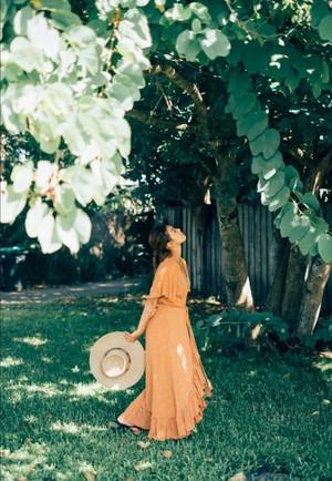 Leona Coral Dress