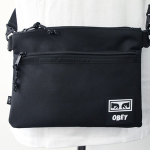 【OBEY】 CONDITIONS SIDE BAG III (BLACK)