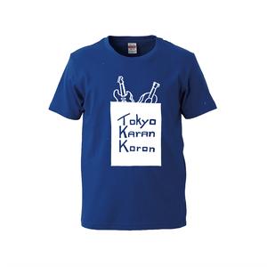 エレ・アコ Tシャツ(ブルー)※Lのみ