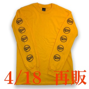 CROWN L/S Tee yellow