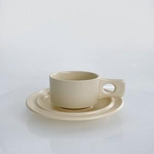 object mug saucer set 2colors / オブジェ マグカップ ソーサー セット プレート 韓国 北欧 インテリア 雑貨