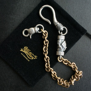 PLEDGE - WALLET CHAIN - SILVER925 × BRASS