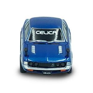 トヨタ博物館オリジナルプルバックミニカー トヨタ セリカ1600GT(青)