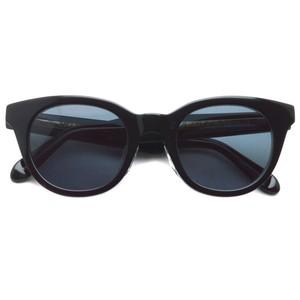 A.D.S.R. / ANDREW 01 アンドリュー / SHINY BLACK & CLEAR BLACK - Black ブラック&クリアブラック - ブラックレンズ ボストンウェリントン サングラス