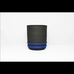 陶芸作家【酒井智也】Free Cup フリーカップ (BLK×BLUE)