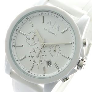 アルマーニエクスチェンジ ARMANI EXCHANGE クオーツ メンズ 腕時計 AX1325 ホワイト ホワイト