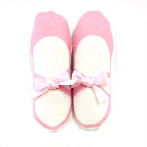 Shoe Deodorant (ピンク) バレエシューズ型 靴の消臭剤(日本製)