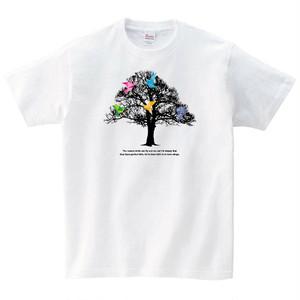 折り紙 鳥 Tシャツ メンズ レディース 半袖 シンプル ゆったり おしゃ れ トップス 白 30代 40代 ペア ルック プレゼント 大きいサイズ 綿100% 160 S M L XL