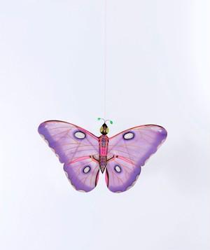 【petit pan】ちょうちょの凧 パープル Kite butterfly Miya purple
