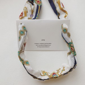101.Scarf necklace
