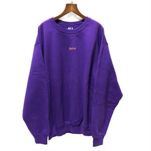 【弟】ステンシルチビロゴトレーナー紫【SKGK】