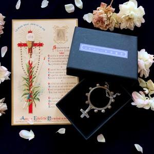 指ロザリオと聖体拝領のホーリカード