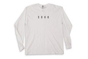 SOUR SOLUTION SOUR ARMY L/S TEE WHITE サイズL