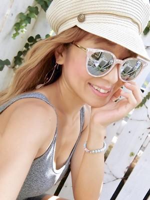 再×4販★ピンクシェルのサングラス
