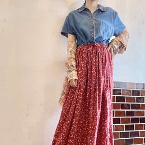 Made in USA country long dress