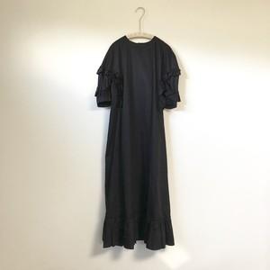 lirot コットンワンピース ブラック