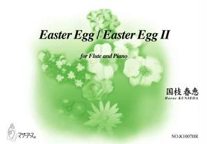 K1007HR Easter Egg / Easter Egg II(フルート,ピアノ/国枝春恵/楽譜)