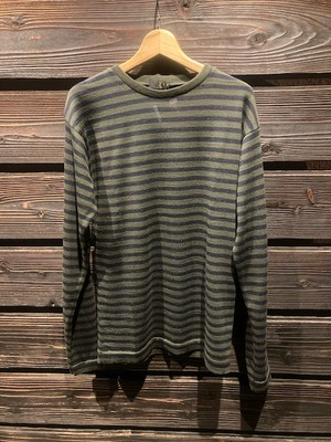 Green Clothing  WOW LAYER Olive/Navy Mサイズ