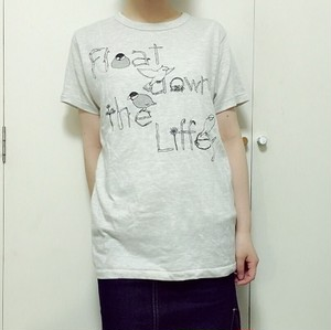 Float down the Liffey『文鳥Tシャツ』