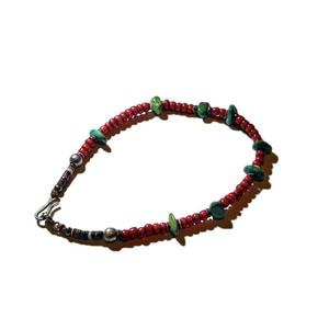SunKu/サンク Antique beads & Shlle Bracelet [SK-E232]