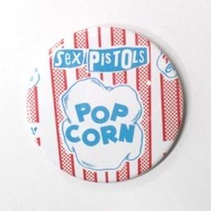 SEX PISTOLSセックス・ピストルズ/POP CORN缶バッジ(54mm)