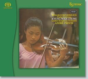 【ESOTERIC SACDソフト】シベリウス:ヴァイオリン協奏曲、 ブルッフ:ヴァイオリン協奏曲、 ラヴェル:ツィガーヌ、 サン=サーンス:序奏とロンド・カプリチオーソ