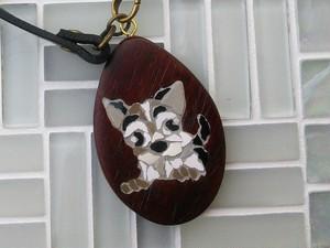 犬のバッグチャーム#1