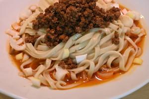 【新作】汁なし担々麺(平打ち麺ver)※シビ辛