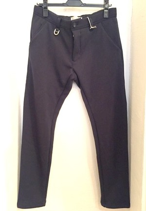 Fleece Tapered Pants Navy