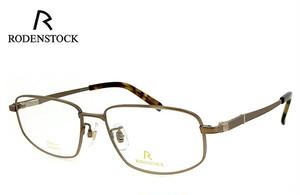 ローデンストック 眼鏡 メガネ 日本製 RODENSTOCK R0123 D チタン メンズ 男性用 眼鏡 バネ蝶番 exclusiv エクスクルーシブ