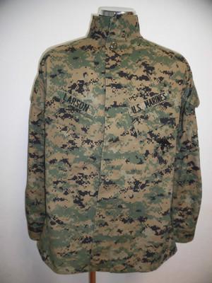 米海兵隊 USMC 現用 MARPAT/ウッドランド・カモ上衣/実物放出品 M-R
