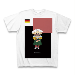 民族衣装Tシャツ ドイツxイヌ