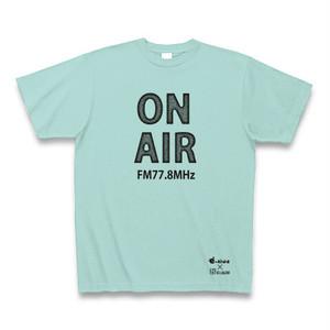 【送料無料】FMいーにわオリジナルTシャツ(にわT) アクア