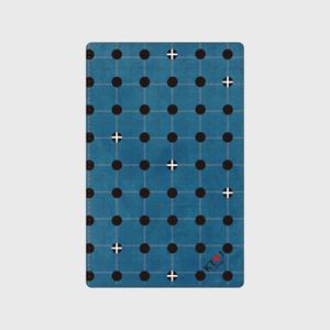 KT♡Jチェック柄大容量カードケース