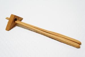 サクラの箸置き(三角箸置き)