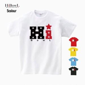 """HiBOWL『ハイボール』HiBowL Tee """"Hi★"""""""