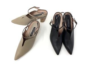 rabokigoshi works ストラップヒールパンプス 12323  ヒールサンダル RABOKIGOSHI 靴  ワークス ラボキゴシ バックストラップヒール きれいめパンプス ワークス通販