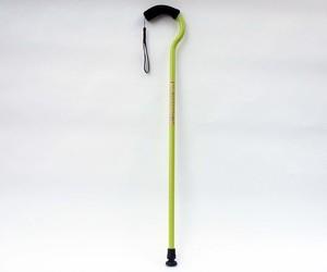 杖『FLAMINGO2(フラミンゴ2)』 【サイズ固定式】イエローグリーン