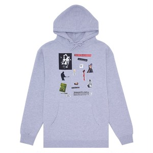 HOCKEY Summoned Hoodie Heather Grey L