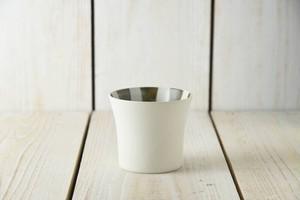 スクラッタ 9cmフリーカップ ブラウ[日本製/美濃焼/洋食器]