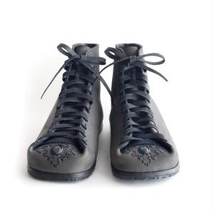 no.1403 short boots 24.5cm~25cm