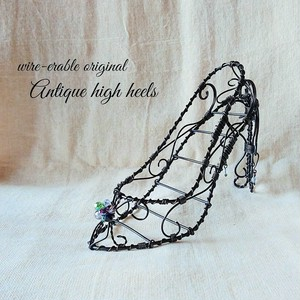 Antique high heels