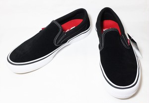 VANS SLIP-ON PRO BLACK US8 1/2 バンズ スリッポン