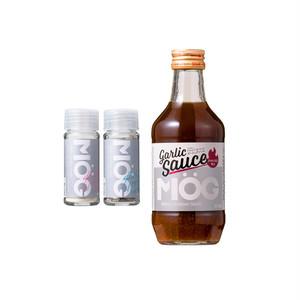 MOG 3本セット(MOG塩×1、MOG胡椒×1、MOGガーリックソース×1)
