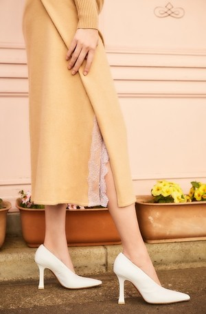 Cashmere Touch Knit Skirt